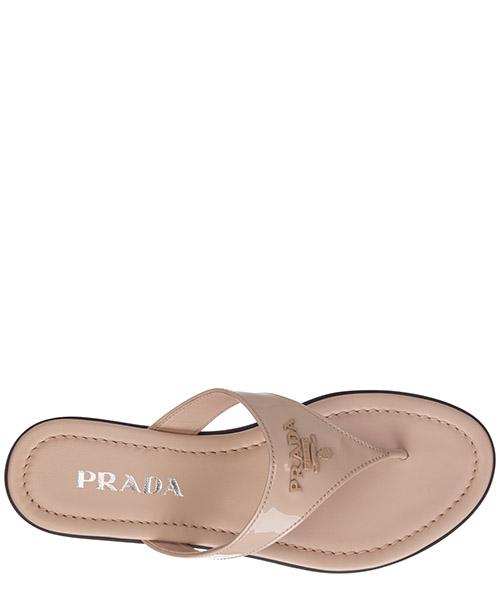 Mujer zapatillas sandalias chanclas en piel secondary image