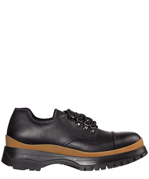 Zapatos con cordones Prada 2ee314_lo9_f0tc7 nero