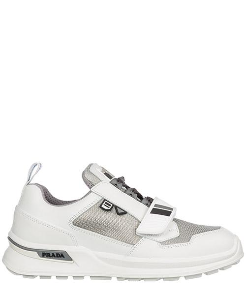 Zapatillas  Prada Wrk 2EG266_3V91_F0JS6 bianco - argento