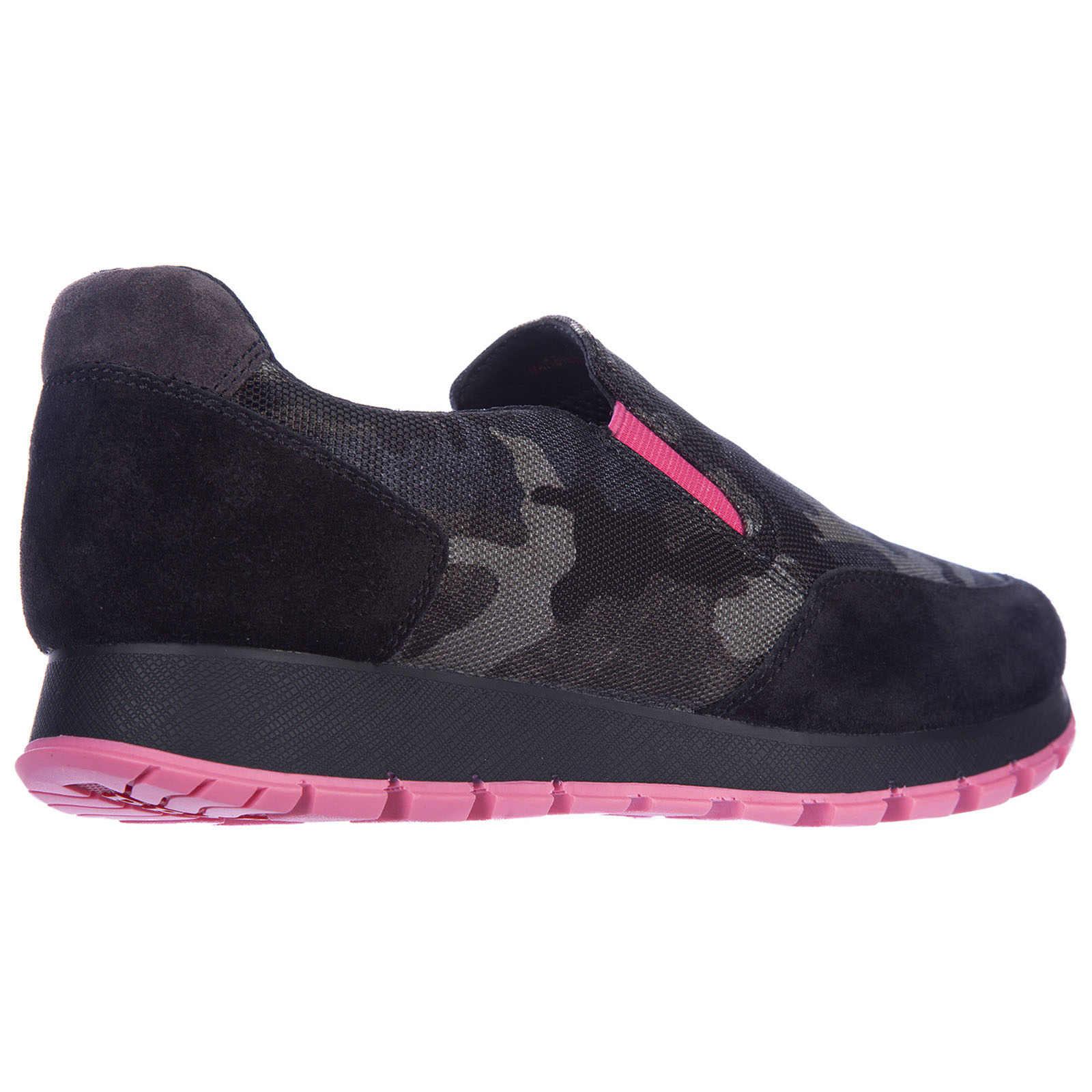 Women's slip on sneakers camouflage