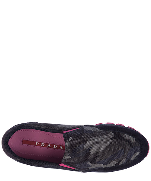 Damen mokassins slip on sneakers camouflage secondary image