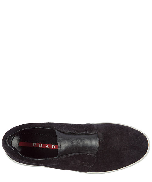 Damen wildleder slip on slipper sneakers secondary image