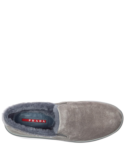 Slip on donna in camoscio sneakers secondary image