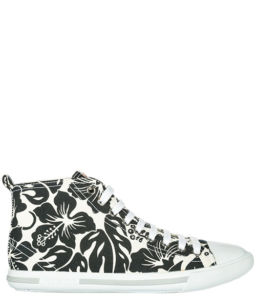 Sneakers alte Prada 3T57313 O81 F0964 bianco