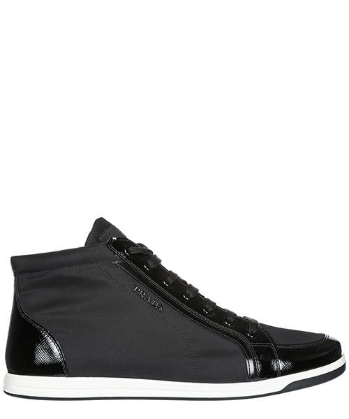 High top sneakers Prada 3T5893 3O8L F0002 nero