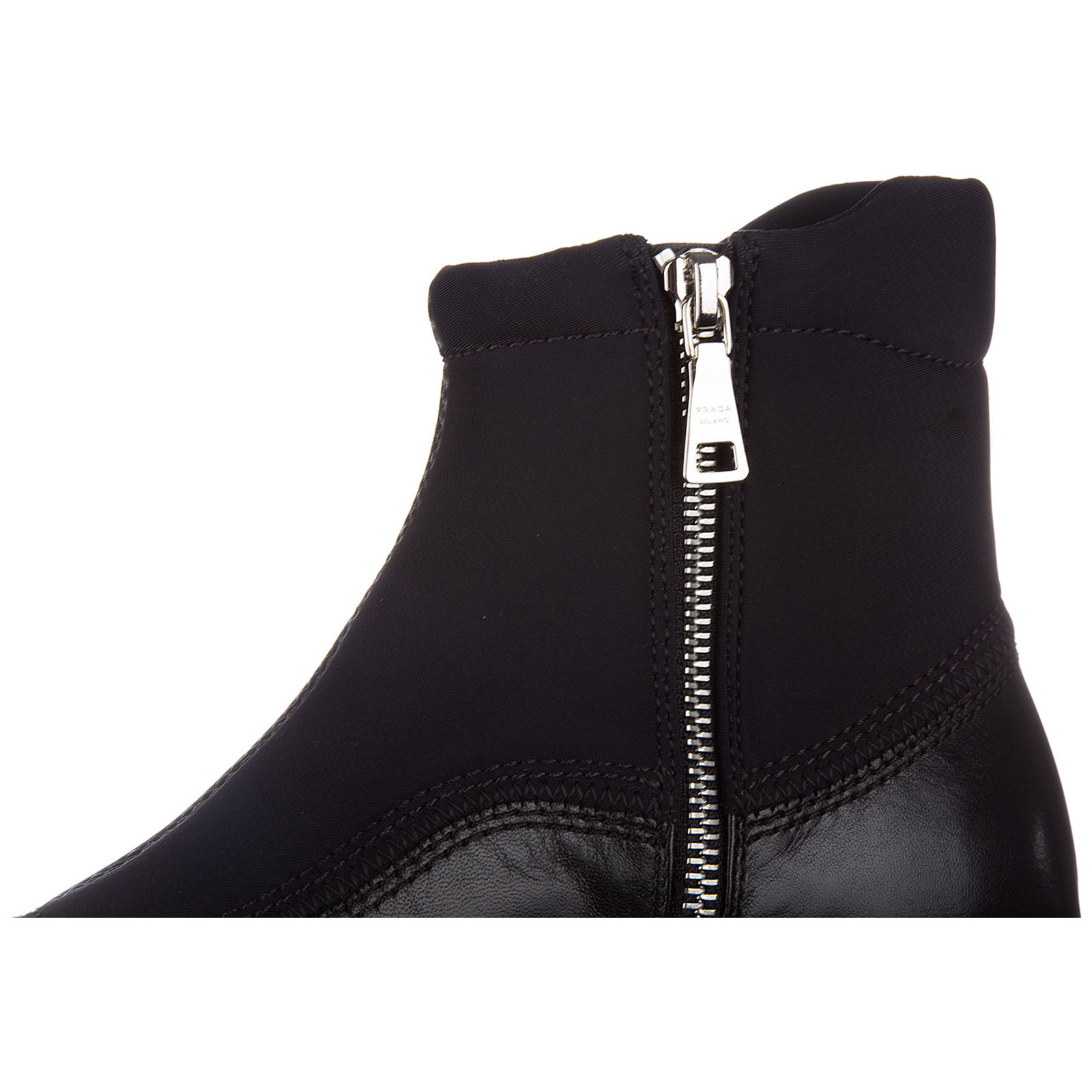 Demi bottes femme en cuir