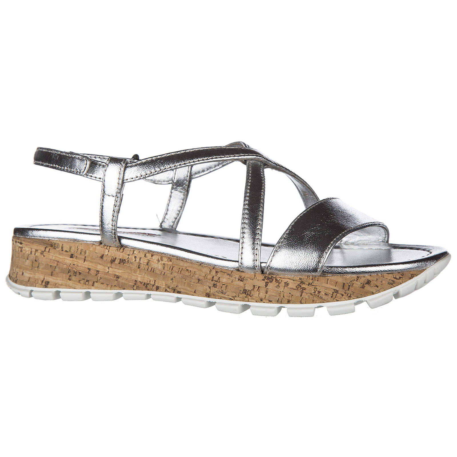 Women's leather sandals  nappa