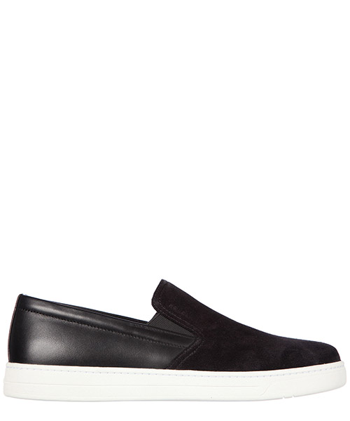 Slip on shoes Prada 4D2733 OQW F0002 nero