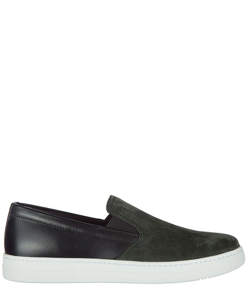 Slip on homme en daim sneakers