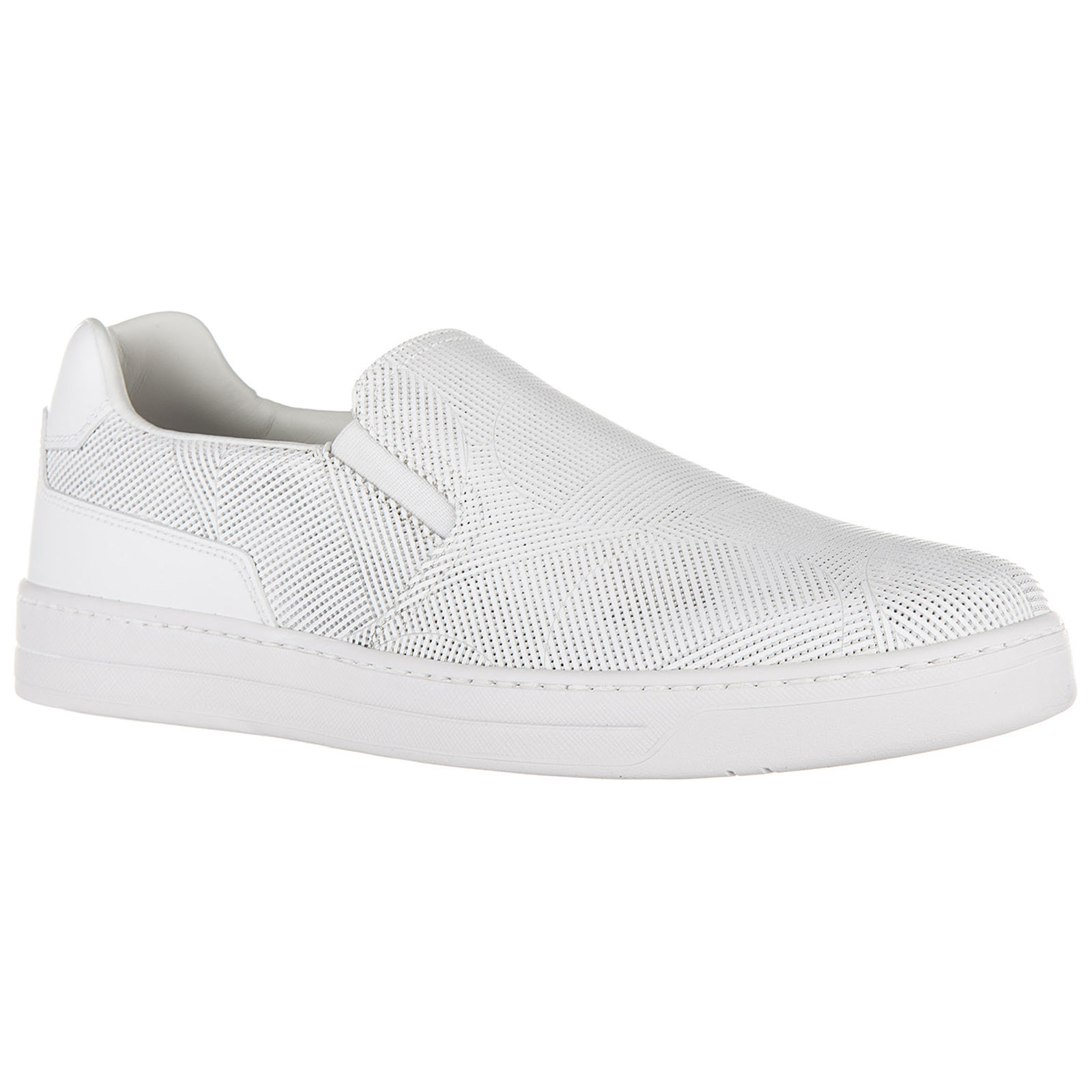 Slip on homme en cuir sneakers