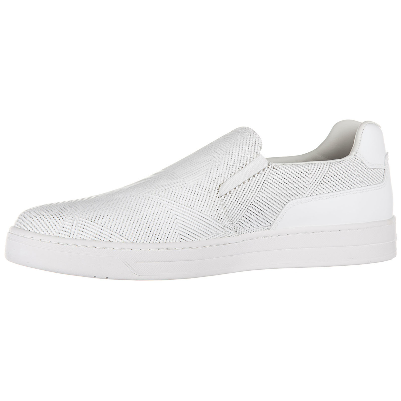 Herren leder slip on slipper sneakers