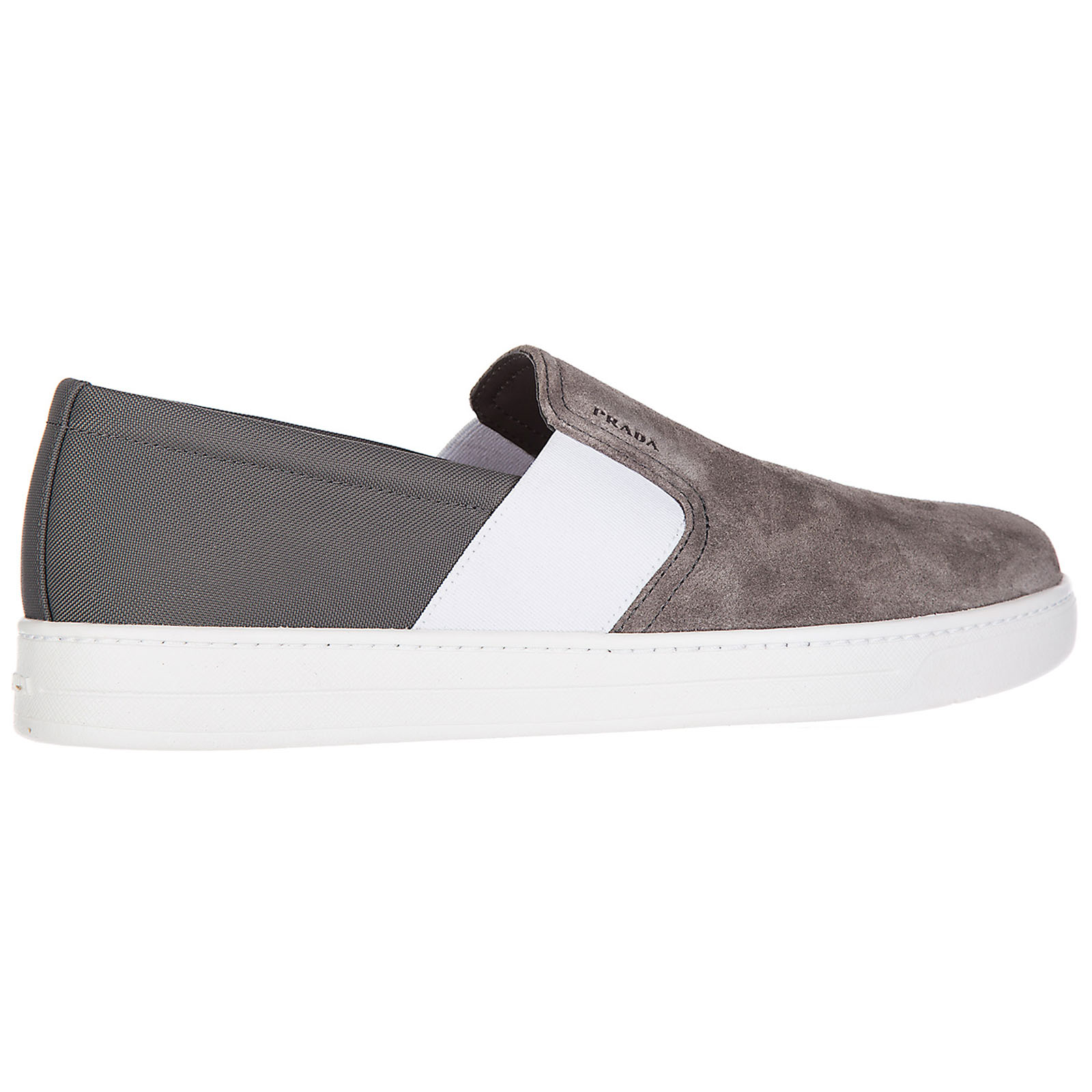 Men's suede slip on sneakers  scamosciato ny