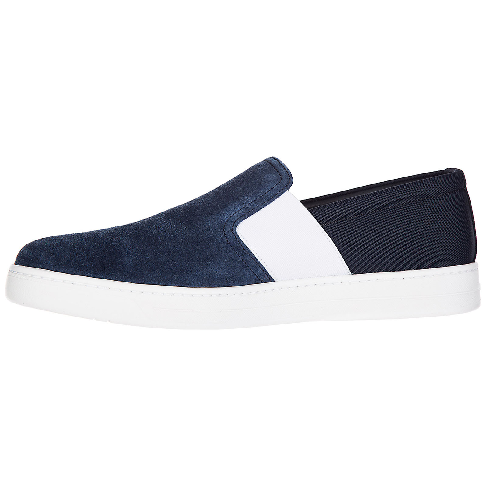 Slip on uomo in camoscio sneakers