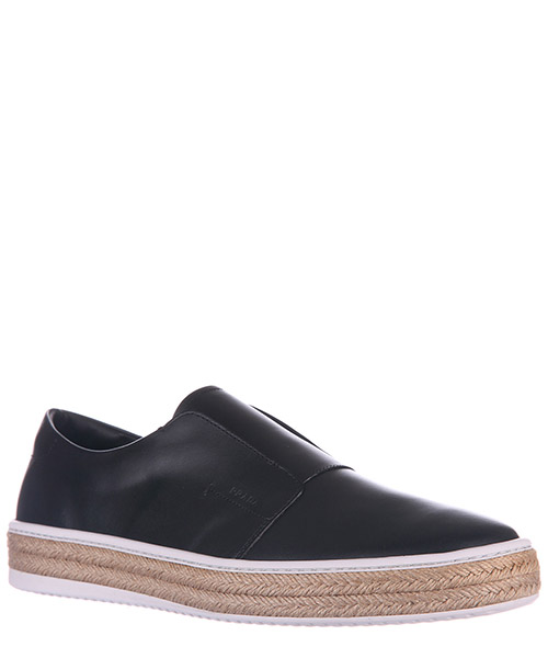 Slip on homme en cuir sneakers  nevada
