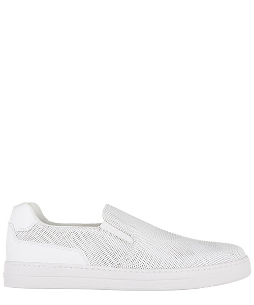 Slip on shoes Prada 4D2953 3G45 F0009 bianco