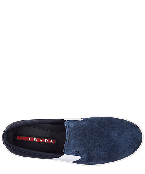Men's suede slip on sneakers secondary image