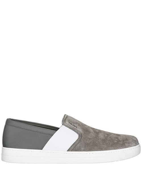 Slip on shoes Prada 4D2995 3OF1 F073E ghiaia
