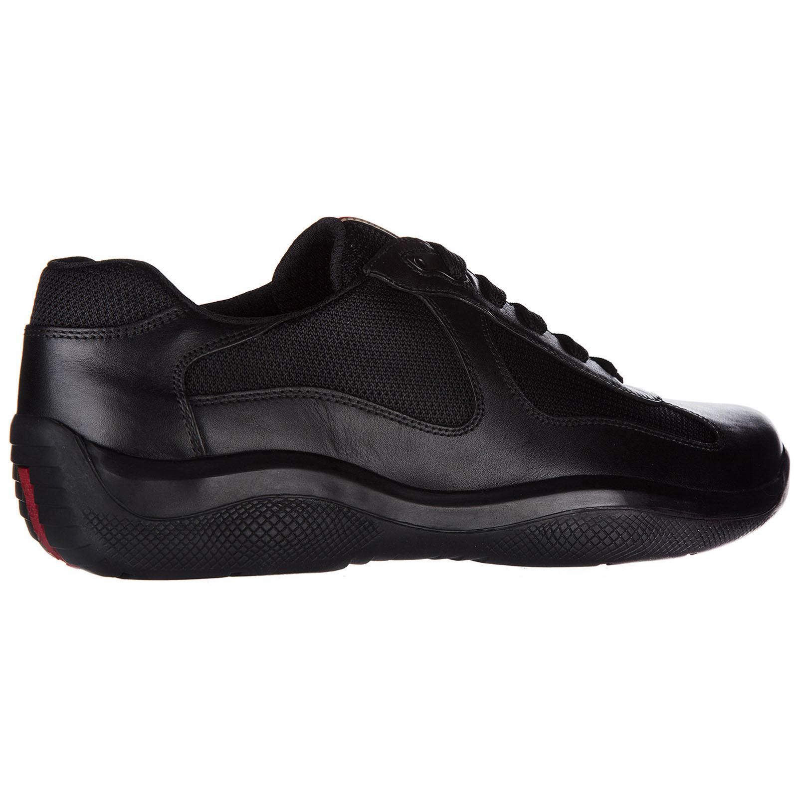 Scarpe sneakers uomo in pelle america s cup