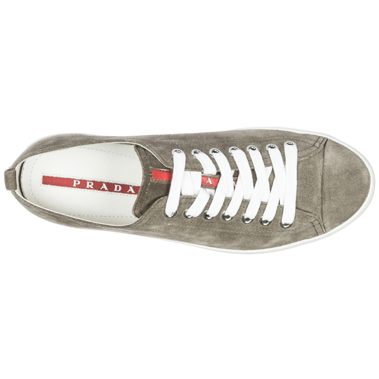 bianco F052N Sneakers 4E2406 Prada OW2 grigio RBRO7qF