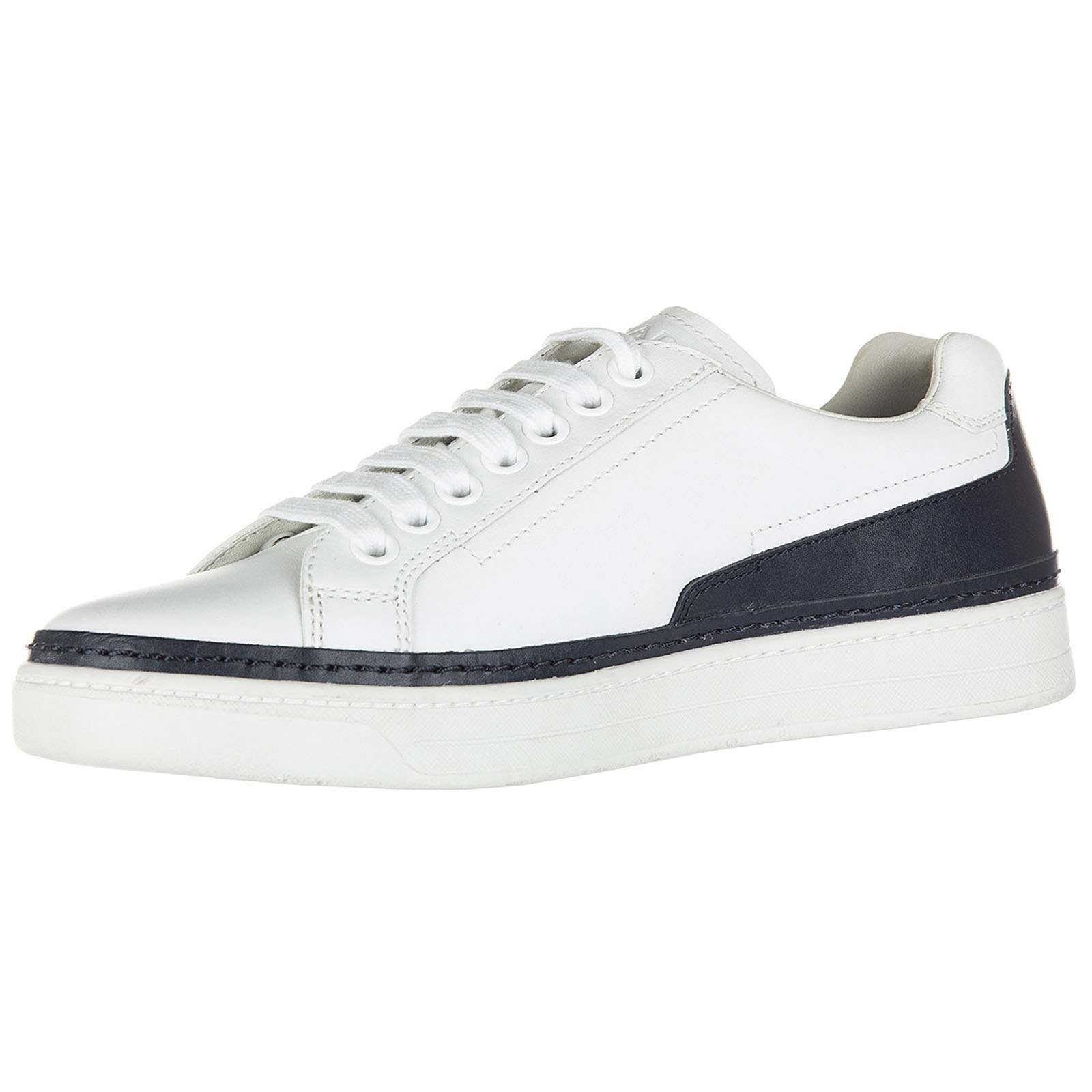 Men's shoes leather trainers sneakers nevada calf