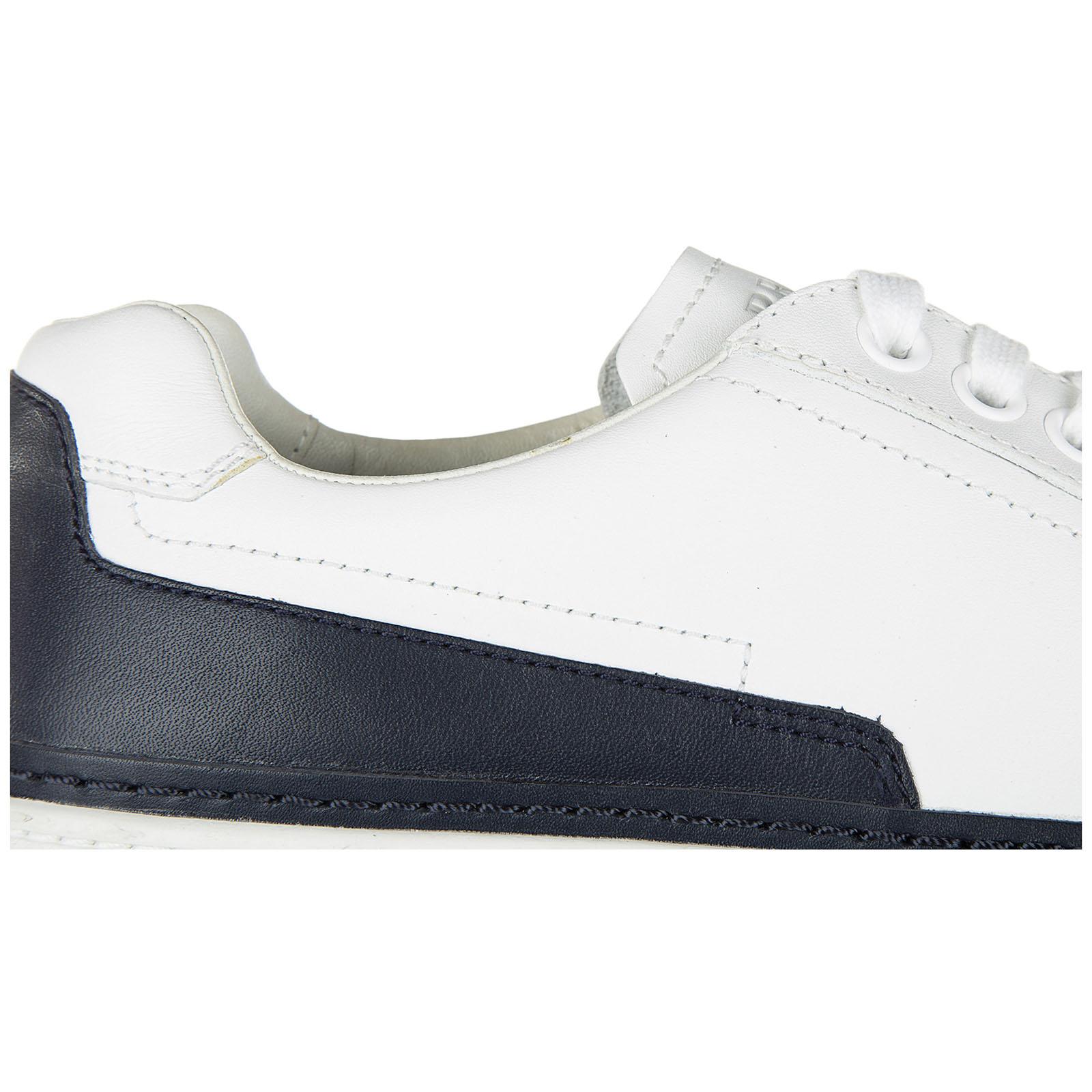 Zapatos zapatillas de deporte hombres en piel nevada calf