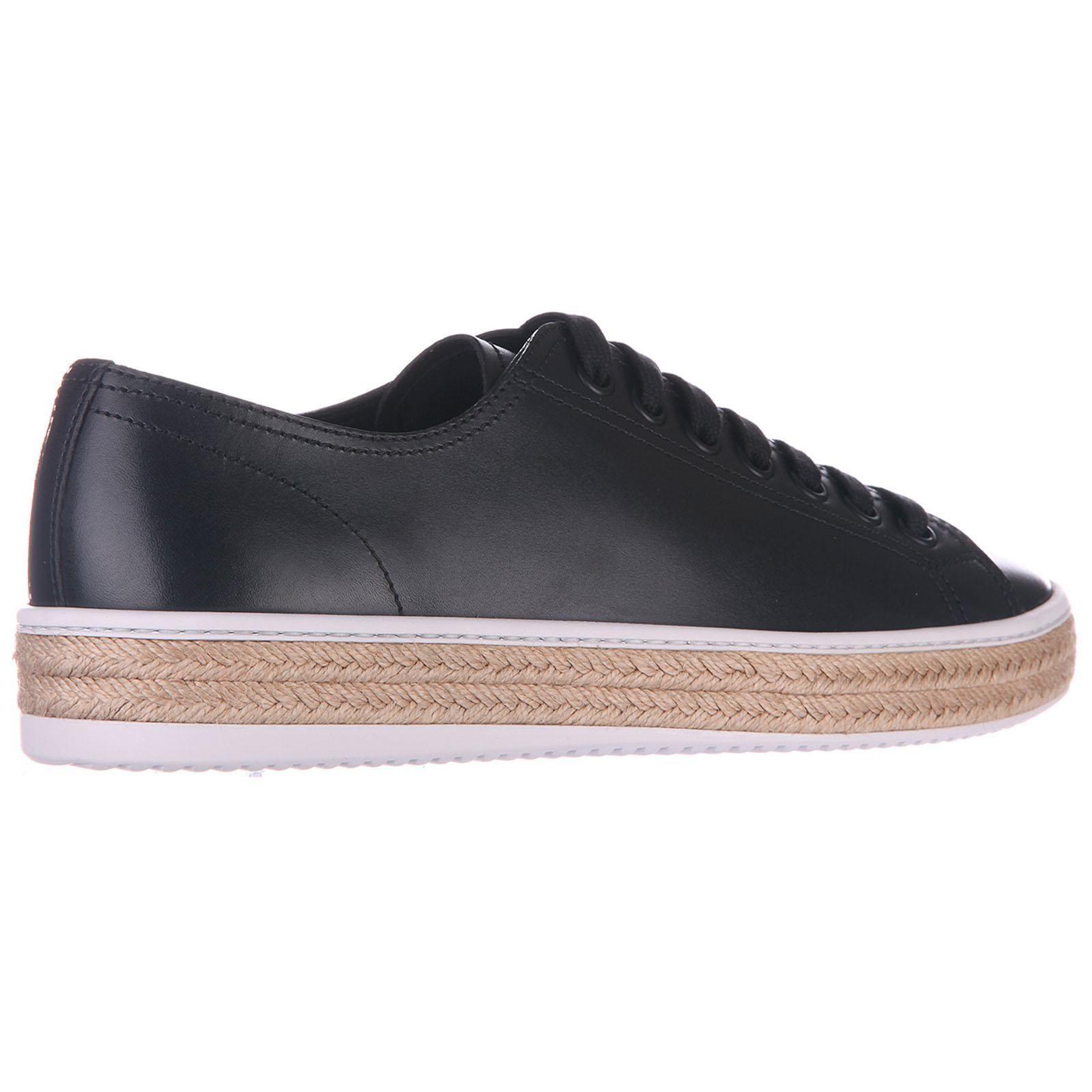 Scarpe sneakers uomo in pelle calf