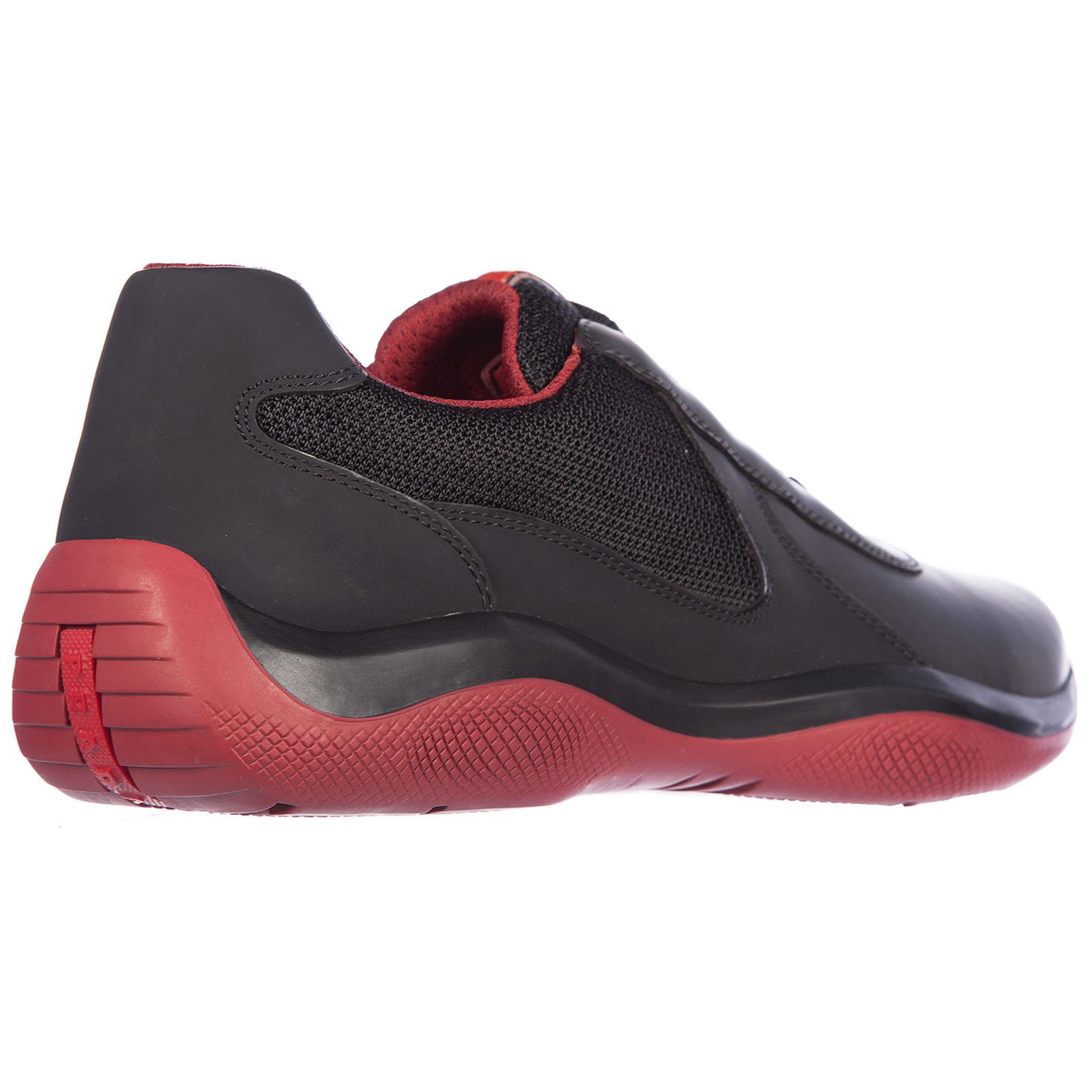 Chaussures baskets sneakers homme en cuir vitello rubber bike