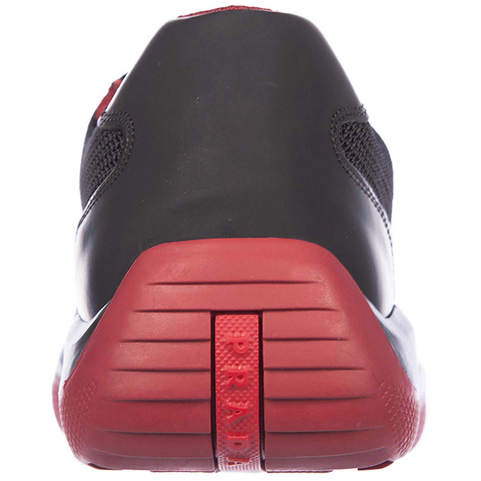Men's shoes leather trainers sneakers vitello rubber bike