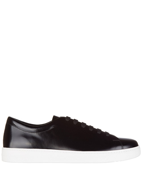 Chaussures baskets sneakers homme en cuir spazzolato rois