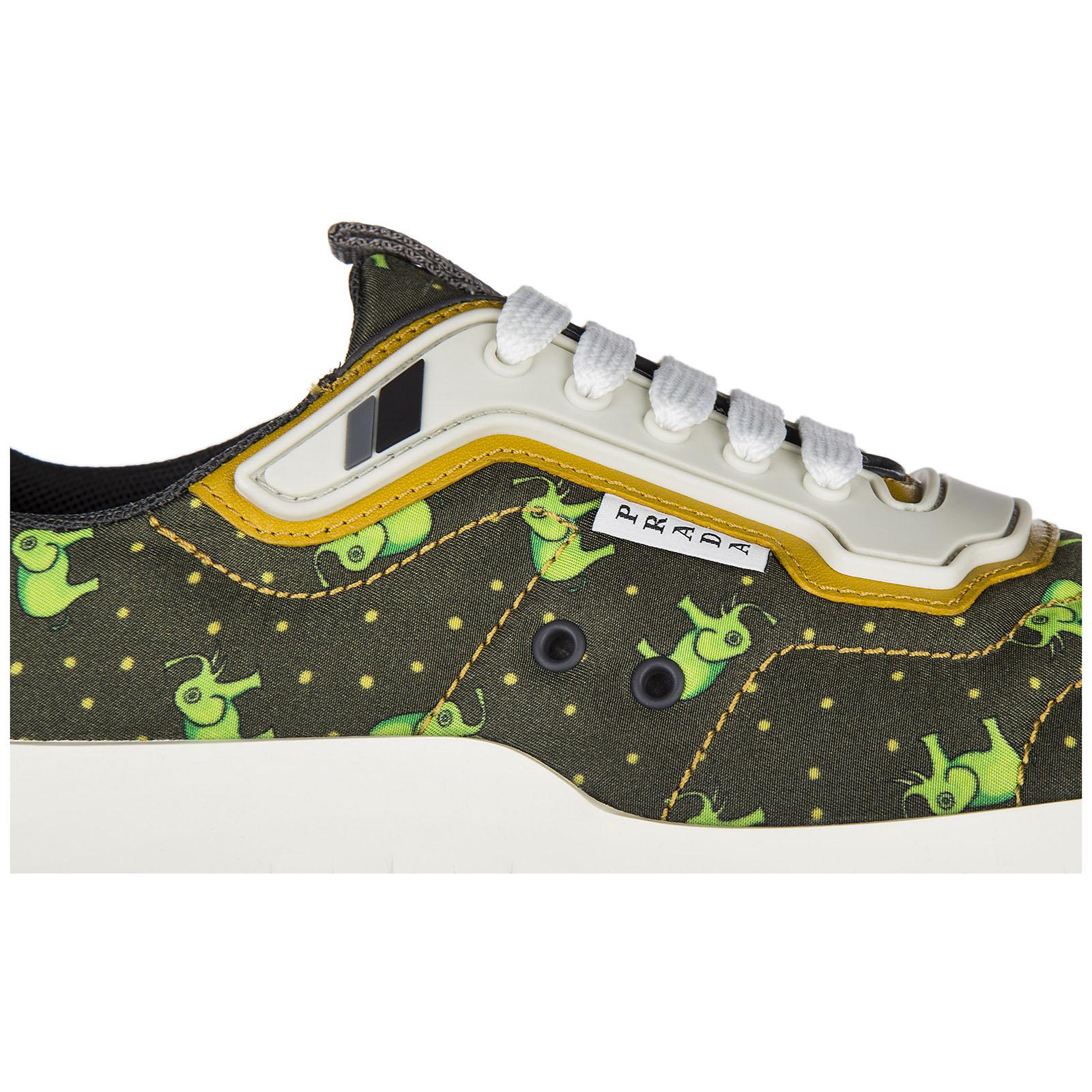 Scarpe sneakers uomo in nylon steele