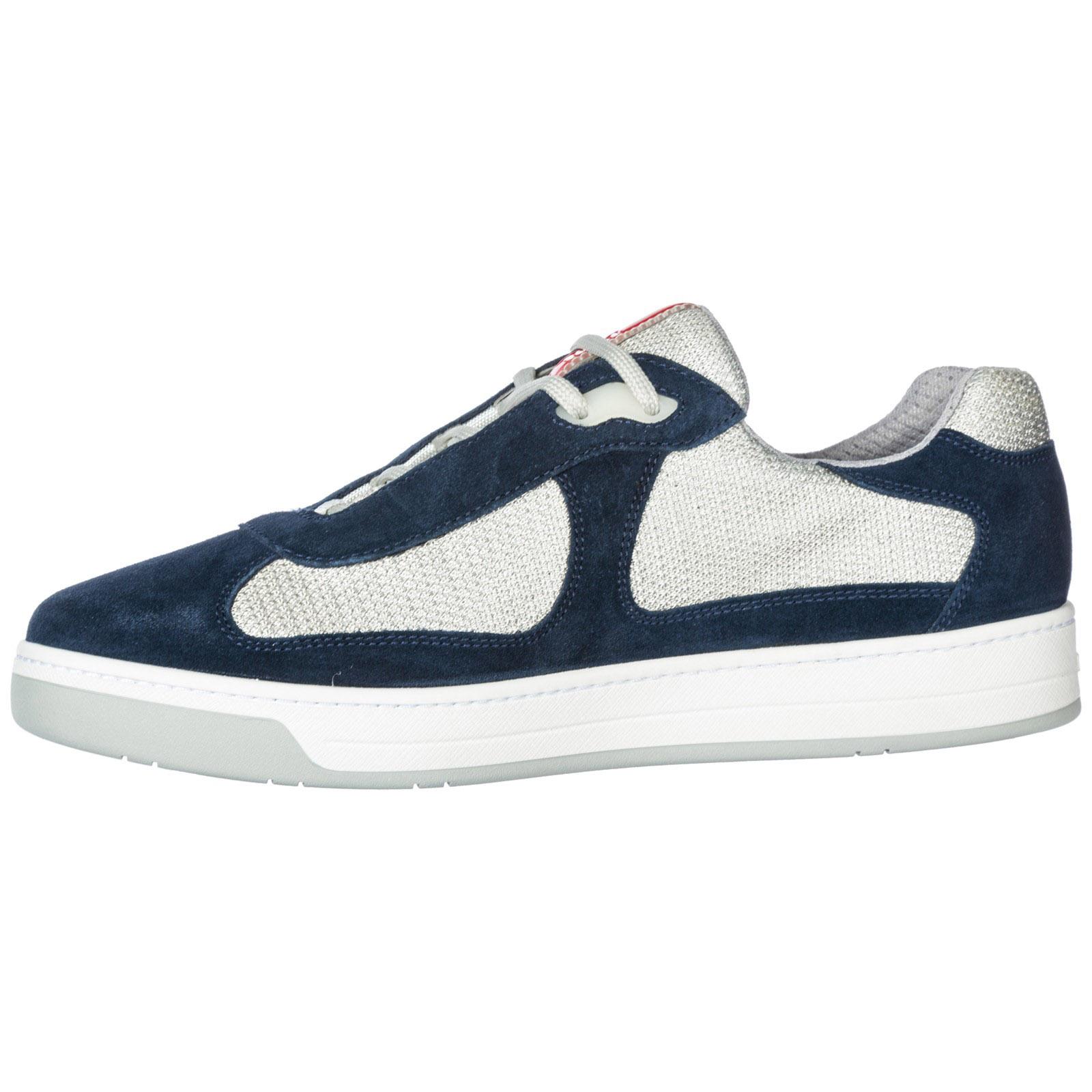 4e3166 America's f0gwa Sneakers Prada o0p Blu Cup qgXfwt