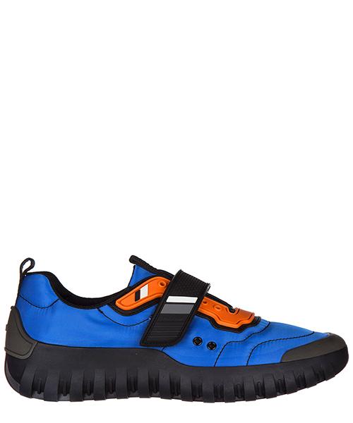 Кроссовки Prada 4E3101 1O1F F014E azzurro + nero