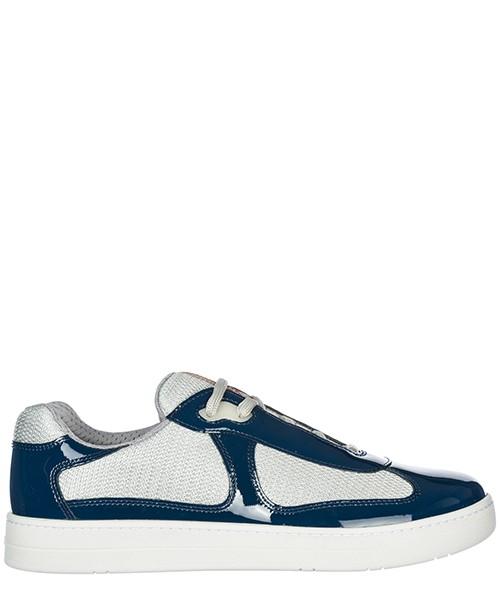 Zapatillas deportivas Prada America's Cup 4E316628O55COBAR cobalto+argento
