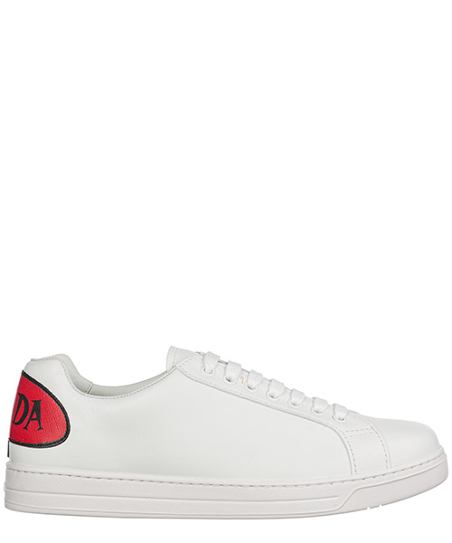 Sneaker Prada 4E3299_3KE5_F082K bianco + fuoco