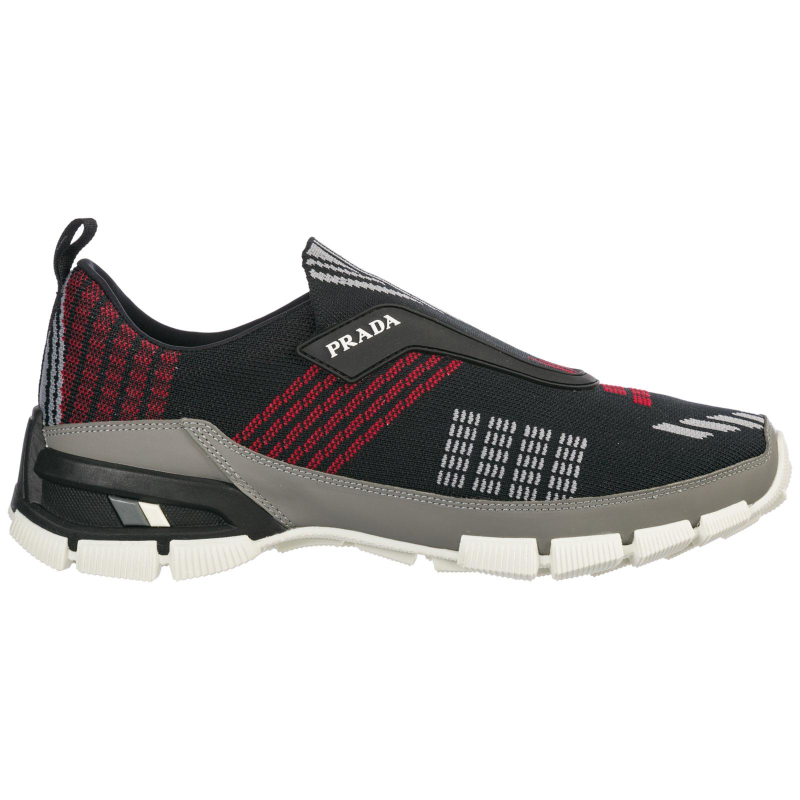 Slip-on shoes Prada cross section