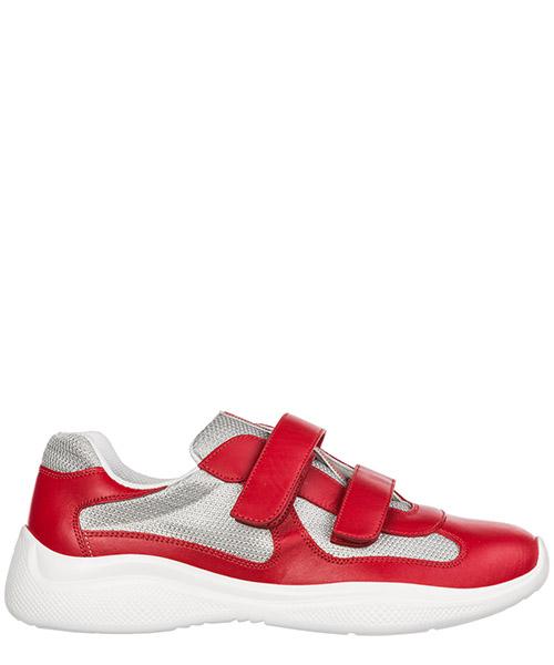 Zapatillas  Prada America's Cup 4O3305_6GW_F0F5C rosso - argento
