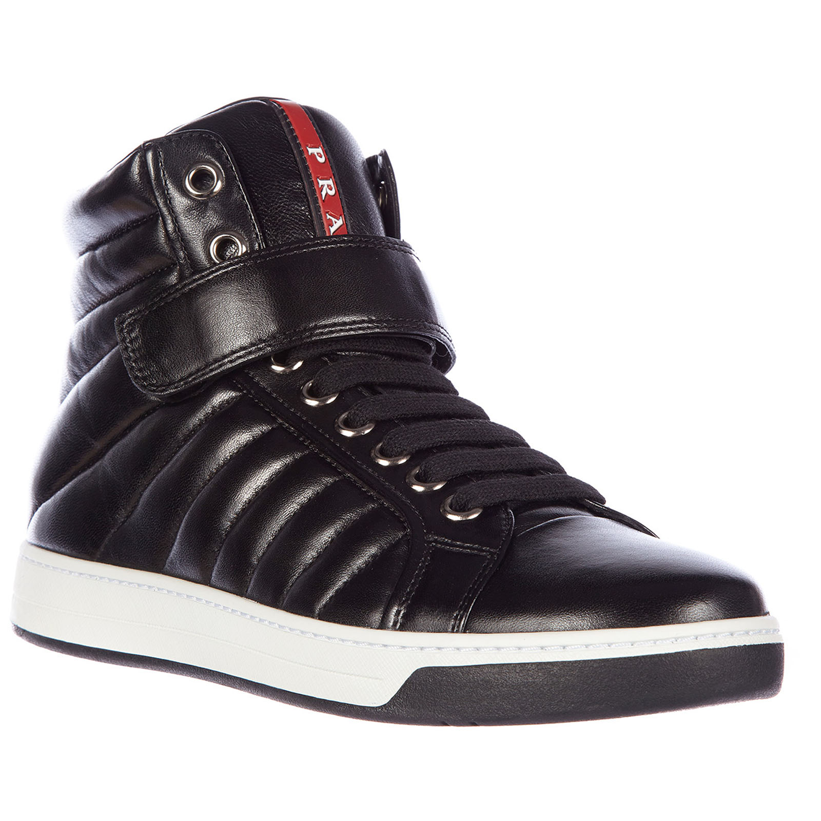 High top sneakers Prada 4T2726 OZ7 F0632 nero