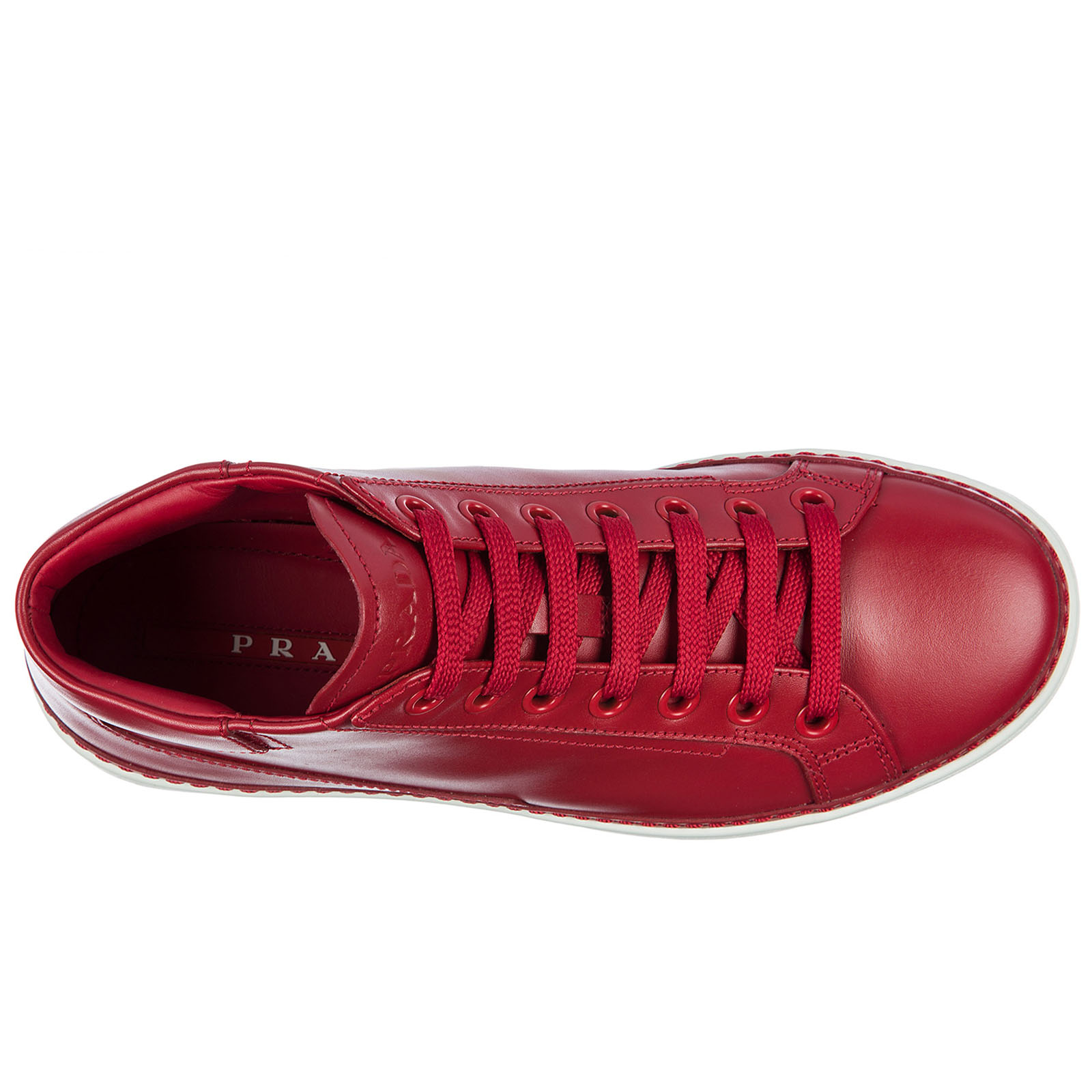 ... Scarpe sneakers alte uomo in pelle ... d5d6c53e9d9