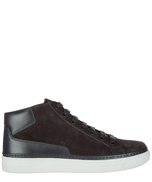 High top sneakers Prada 4T2863O53F0207 asfalto