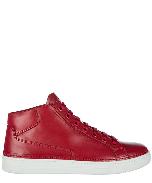High top sneakers Prada 4T2863O64F0011 rosso