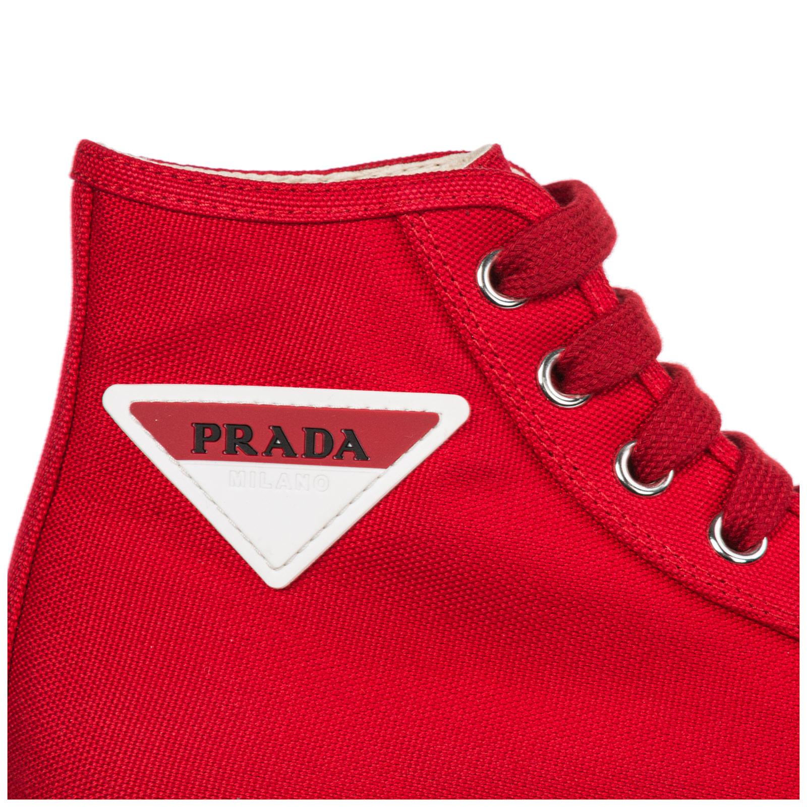 prada high top trainers
