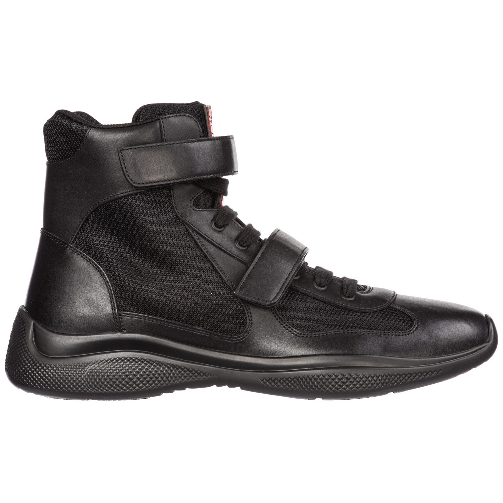 High-top sneakers Prada