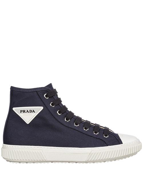 Высокие кроссовки Prada 4T3306_3OJT_F0216 blu