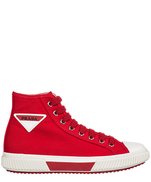 High-top sneakers Prada 4T3306_3OJT_F0011 rosso