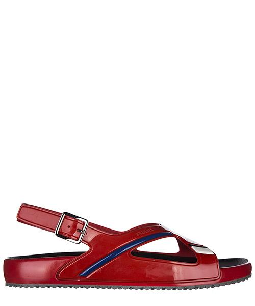 Sandales Prada 4X3092 1OL1 F0011 rosso