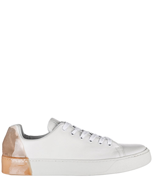 Basket Premiata Colour Block 31036 POLO bianco