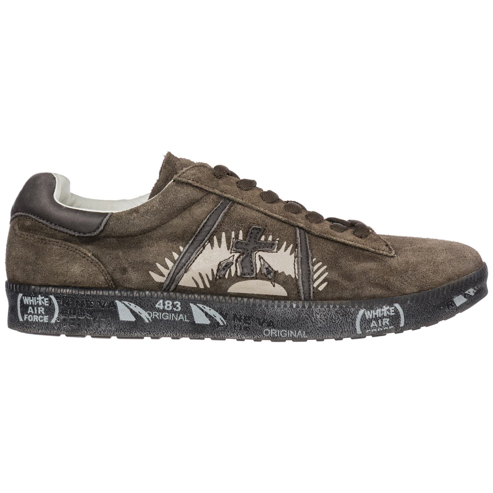 Scarpe sneakers uomo camoscio andy