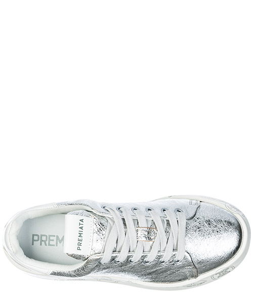 Scarpe sneakers donna in pelle belle secondary image