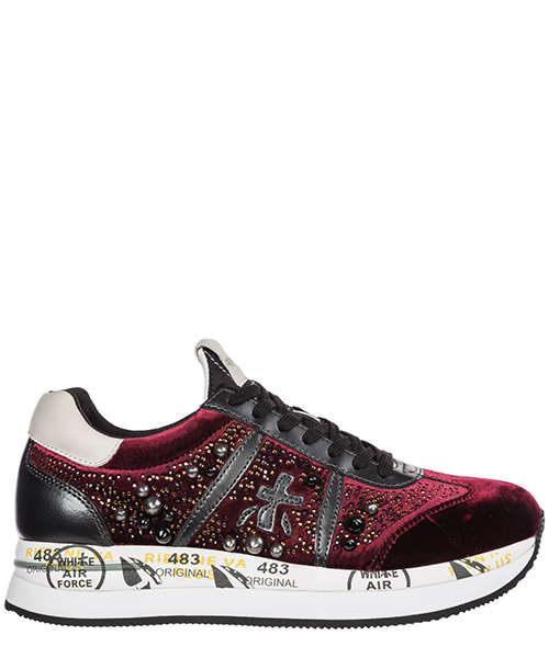 Sneakers Premiata Conny CONNY 3371 bordeaux