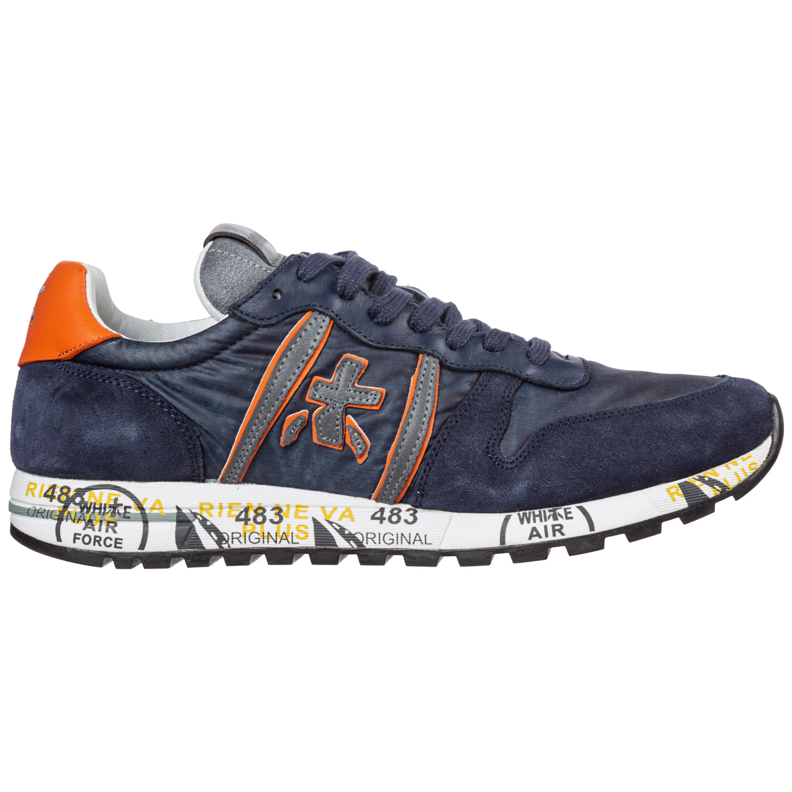 Premiata Sneakers MEN'S SHOES SUEDE TRAINERS SNEAKERS ERIC